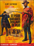 """Movie Posters:Western, For a Few Dollars More (United Artists, R-1978). French Grande(45.5"""" X 61.5""""). Western.. ..."""