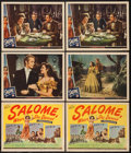 "Movie Posters:Adventure, Salome, Where She Danced (Universal, 1945). Title Lobby Cards (2)& Lobby Cards (4) (11"" X 14""). Adventure.. ... (Total: 6 Items)"