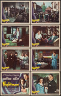 """Movie Posters:Mystery, Nightmare (Universal, 1942). Lobby Card Set of 8 (11"""" X 14"""").Mystery.. ... (Total: 8 Items)"""