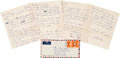 Autographs:Celebrities, Martin Luther King, Jr., Autograph Letter Twice Signed.... (Total:5 )