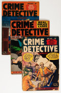 Golden Age (1938-1955):Miscellaneous, Comic Books - Assorted Golden Age Crime Comics Group (Various Publishers, 1940s-'50s) Condition: Average GD/VG.... (Total: 21 Comic Books)