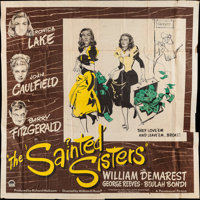 """The Sainted Sisters (Paramount, 1948). Six Sheet (77"""" X 78""""). Comedy"""