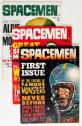 Magazines:Science-Fiction, Spacemen Group (Warren, 1961-64) Condition: Average FN.... (Total:8 Comic Books)