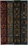 Books:Signed Editions, Allen M. Steele. SIGNED/LIMITED. Group of Four. Easton Press. Publisher's binding. Each copy is signed on the limitation... (Total: 4 Items)
