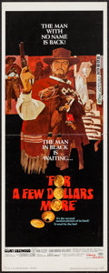 """Movie Posters:Western, For a Few Dollars More (United Artists, 1967). Insert (14"""" X 36""""). Western.. ..."""