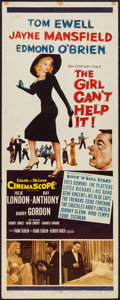 """Movie Posters:Comedy, The Girl Can't Help It (20th Century Fox, 1956). Insert (14"""" X36""""). Comedy.. ..."""