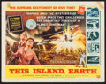 "Movie Posters:Science Fiction, This Island Earth (Universal International, 1955). Title Lobby Card(11"" X 14""). Science Fiction.. ..."