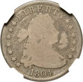 Early Quarters, 1804 25C Good 6 NGC. B-1, R.3....