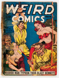 Golden Age (1938-1955):Horror, Weird Comics #4 (Fox Features Syndicate, 1940) Condition: FR....