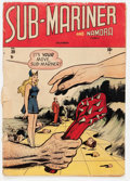 Golden Age (1938-1955):Superhero, Sub-Mariner Comics #29 (Timely, 1948) Condition: FR/GD....