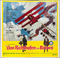 "Movie Posters:War, Von Richthofen and Brown (United Artists, 1971). Six Sheet (77"" X79""). Flat Folded. War.. ..."