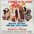 "Movie Posters:Comedy, Pocketful of Miracles (United Artists, 1962). Six Sheet (79"" X 79""). Comedy.. ..."