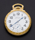 Timepieces:Pocket (post 1900), Hamilton Choice 21 Jewel 992 B Pocket Watches . ...