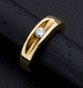 Estate Jewelry:Rings, Diamond,Gold Ring. ...