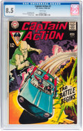 Silver Age (1956-1969):Superhero, Captain Action #2-5 CGC-Graded Group (DC, 1968-69).... (Total: 4 Comic Books)