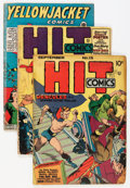 Golden Age (1938-1955):Miscellaneous, Comic Books - Assorted Golden Age Comics Group (Various Publishers, 1940s).... (Total: 8 Comic Books)