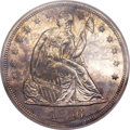 Proof Seated Dollars, 1856 $1 PR62 PCGS....