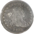Early Dollars, 1796 $1 Small Date, Large Letters Fine 12 PCGS. B-4, BB-61, R.3....