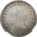 Early Half Dollars, 1794 50C -- Improperly Cleaned -- NGC Details. VG. O-101a, R.4....