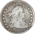 Early Quarters, 1804 25C -- Repaired, Whizzed -- NGC Details. Fine. B-1, R.3....