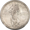 Standing Liberty Quarters, 1916 25C -- Improperly Cleaned -- NGC Details. XF....