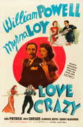 """Movie Posters:Comedy, Love Crazy and Other Lot (MGM, 1941). One Sheets (2) (27"""" X 41"""")Style D.. ... (Total: 2 Items)"""