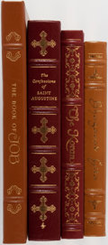 Books:Religion & Theology, [Religion]. Group of Four. Easton Press. Includes The Koran, The Book of Job and others. Light scuffing to gilt. Ver... (Total: 4 Items)
