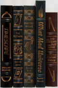 Books:Science Fiction & Fantasy, [Science Fiction]. Group of Five. Easton Press. Publisher's binding. Authors include David Brin and Fredric Brown. S... (Total: 5 Items)