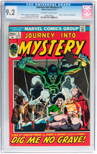 Journey Into Mystery #1 and 3 CGC-Graded Group (Marvel, 1972-73).... (Total: 2 Comic Books)
