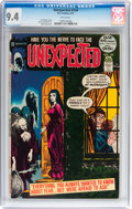 Bronze Age (1970-1979):Horror, Unexpected #134 (DC, 1972) CGC NM 9.4 White pages....