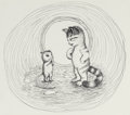 Mainstream Illustration, GARTH WILLIAMS (American, 1912-1996). Harry Kitten and TuckerMouse, group of 5: page 54, 55, 57, 63 and 64 illustrations...(Total: 5 Items)