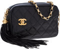 Luxury Accessories:Bags, Chanel Black Lambskin Leather Camera Bag with Gold CC Turnlock. ...