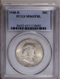1948-D 50C MS65 Full Bell Lines PCGS. PCGS Population (1102/99). NGC Census: (419/9). Numismedia Wsl. Price: $140. (#866...