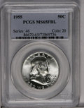 1955 50C MS65 Full Bell Lines PCGS. PCGS Population (954/125). NGC Census: (207/16). Numismedia Wsl. Price: $100. (#8667...