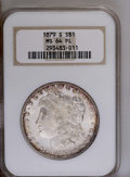 1879-S $1 MS64 Prooflike NGC. NGC Census: (1823/1204). PCGS Population (1681/1358). Numismedia Wsl. Price: $92. (#7093)...