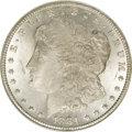 1881-CC $1 --Waxed Surfaces--ANACS. MS60 Details. NGC Census: (6/5850). PCGS Population (28/14526). Mintage: 296,000. Nu...