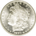 Morgan Dollars: , 1883-CC $1 MS64 Deep Mirror Prooflike ANACS. NGC Census: (479/225). PCGS Population (1096/706). Numismedia Wsl. Price: $57...