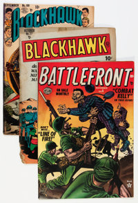 Comic Books - Assorted Golden Age War Comics Group (Various Publishers, 1950s) Condition: Average GD/VG.... (Total: 9 Co...