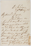 Autographs:Military Figures, [Horatio Nelson]. Sir William Beatty Autograph Letter Signed....