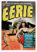 Golden Age (1938-1955):Horror, Eerie #4 (Avon, 1951) Condition: GD....