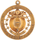 Baseball Collectibles:Others, 1952 Hollywood Stars PCL Championship Pendant. ...