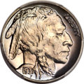 Proof Buffalo Nickels, 1937 5C PR67+ PCGS. CAC....