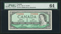 Canadian Currency: , BC-37c $1 1954. ...