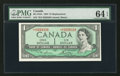 Canadian Currency: , BC-37dA $1 1954 Replacement. ...