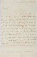 Autographs:Non-American, Sir Edward Berry Autographed Letter Signed....