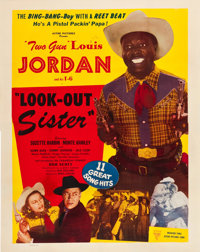 """Look-Out Sister (Astor, 1947). Poster (41.5"""" X 52"""")"""