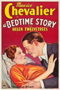"""A Bedtime Story (Paramount, 1933). One Sheet (27"""" X 41"""") Style B"""