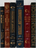 Books:Science Fiction & Fantasy, [Science Fiction]. Group of Six. Easton Press. Publisher's binding. Titles include Speaker for the Dead, Downbelow Sta... (Total: 6 Items)