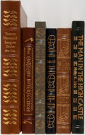 Books:Science Fiction & Fantasy, [Science Fiction]. Group of Six. Easton Press. Publisher's binding. 20,000 Leagues Under the Sea folio sized and illustr... (Total: 6 Items)