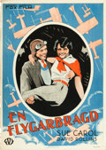 "Movie Posters:Drama, The Air Circus (Fox, 1928). Swedish One Sheet (27.5"" X 39.5"").. ..."